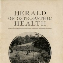 Image of 1995.303 - The Herald of Osteopathic Health