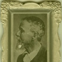 Image of 1997.41 - Tray with Photo of Andrew Taylor Still