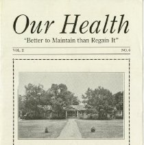 Image of 1997.41 - Our Health, Vol. 2, No. 6
