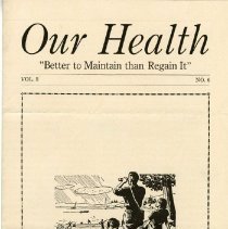 Image of 1997.41 - Our Health, Vol. 3, No. 6