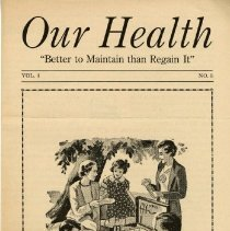 Image of 1997.41 - Our Health, Vol. 4, No. 3