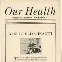 Image of 1997.41 - Our Health, Vol. 5, No. 1