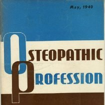 Image of 1997.41 - Osteopathic Profession, May 1940