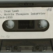 Image of Thompson/ Lamb Interview