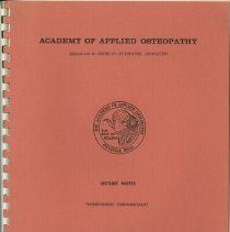 Image of 1985.1038 - Osteopathic Fundamentals