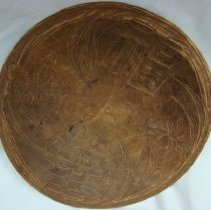Image of 1991.1402 - Carved Wooden Bowl