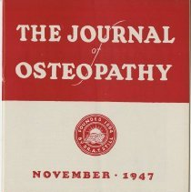 Image of The Journal of Osteopathy