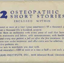 Image of 1994.99 - 12 Osteopathic Short Stories
