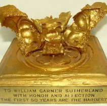 Image of 1995.06 - Award Given to William Sutherland