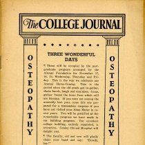 Image of 1995.303 - The College Journal