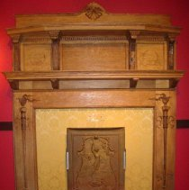 Image of 2005.32 - Mantelpiece from the Still Family Home
