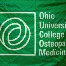 Image of 2010.51 - Ohio University College of Osteopathic Medicine Flag