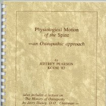 Image of 2001.81 - Physiological Motion of the Spine