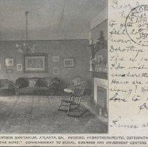 Image of 2006.32 - Main parlor of Robertson Sanitarium