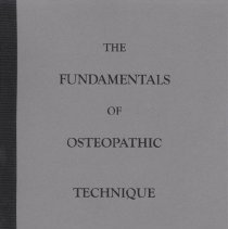 Image of 2010.88 - The Fundamentals of Osteopathic Technique [reprint]