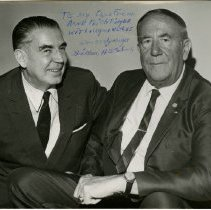 Image of 2001.36 - Photograph of Bohm with Arne Feichtinger