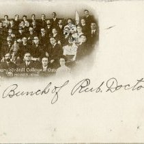 Image of Postcard of Des Moines School Class