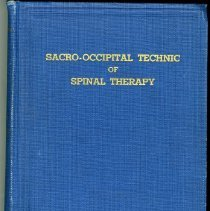 Image of 2004.167 - Sacro-Occipital Technic of Spinal Therapy
