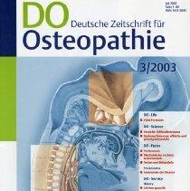 Image of 2004.190 - DO Deutsche Zeitschrift fur Osteopathie