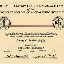 Image of Kirksville Osteopathic Alumni Association of Kirksville College of Osteopat
