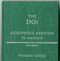 Image of 2004.208 - The DOs Osteopathic Medicine in America