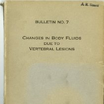 Image of 2004.223 - Changes in Body Fluids due to Vertebral Lesions