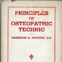 Image of 2004.232 - Principles of Osteopathic Technic
