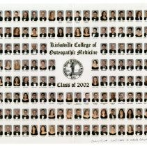 Image of 2004.233 - 2002 Kirksville College of Osteopathic Medicine Graduation Composite Photo