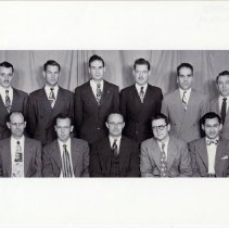 Image of 2004.233 - Eleven members of the Kirksville College of Osteopathy & Surgery Class of 1949 May