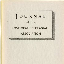 Image of 2004.238 - Journal of the Osteopathic Cranial Association, 1953