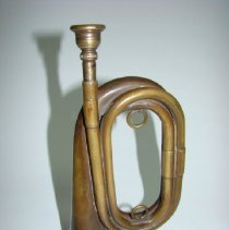 Image of 2008.80 - Bugle Supposedly Used by Harold Magoun, Sr. in World War I