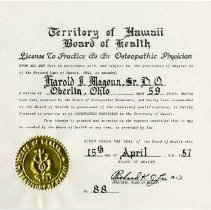 Image of Hawaii License for Medical Practice
