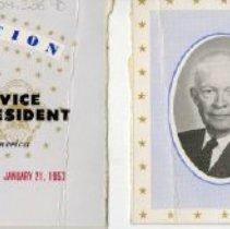 Image of Inaguration Ticket