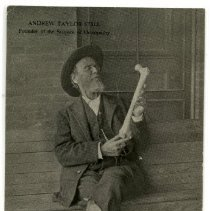 Image of 2010.02 - Postcard of A.T. Still with Femur