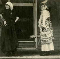 Image of 2010.87 - Photograph of Two Women on Porch