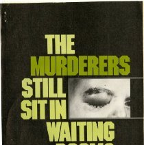 Image of 2011.36 - The Murderers Still Sit in Waiting Rooms