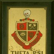 Image of 2011.48 - Theta Psi plaque