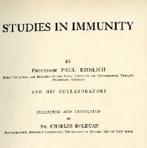 Image of 1997.42 - Studies in Immunity