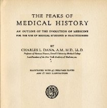 Image of 1997.42 - The Peaks of Medical History