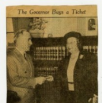 Image of 2004.78 - The Governor Buys a Ticket