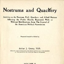 Image of 1997.42 - Nostrums and Quackery