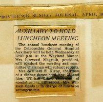 Image of 2004.78 - Auxiliary To Hold Luncheon Meeting