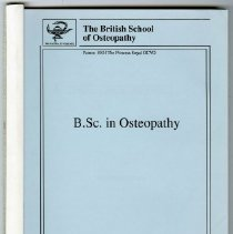 Image of B.Sc. in Osteopathy
