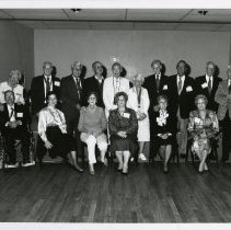 Image of 1997.04 - Photograph of Kirksville College of Osteopathy and Surgery Reunion Gold Medallion and Spouses