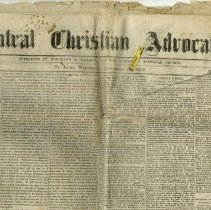 Image of Central Christian Advocate Newspaper