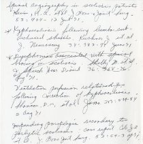 Image of 2010.76 - Handwritten Reference Page