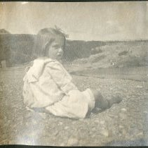 Image of 2011.79 - Young Girl on the Beach