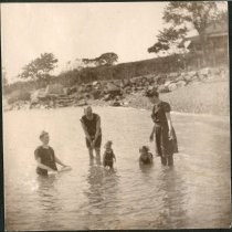 Image of 2011.79 - Swimming in the Ocean