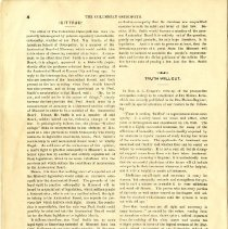 Image of Columbian School Osteopathy Journal July 1898