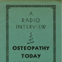 Image of 2006.03 - A Radio Interview Booklet